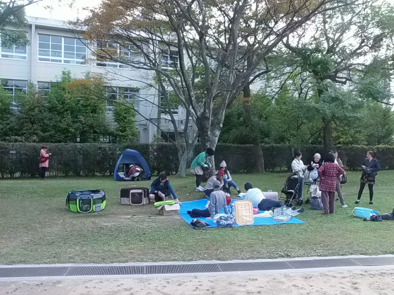 うさんぽ会 in 舞鶴公園①